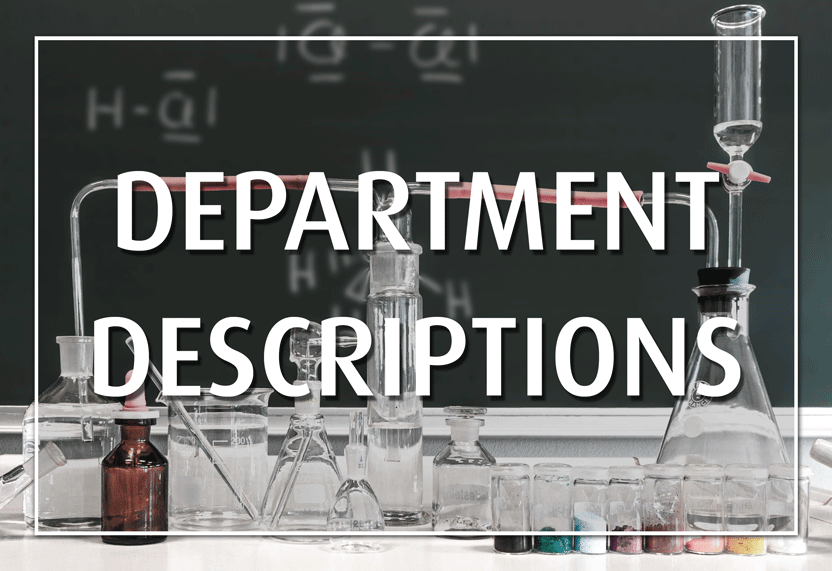 DepartmentDescriptions